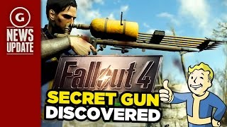 Fallout 4's Secret Gun Discovered; Bethesda Warns Against Console Commands - GS News Update