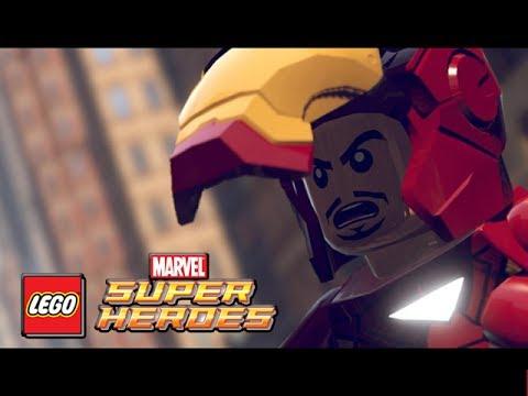LEGO Marvel Superheroes - DEMO - Iron Man, Hulk & Spider-man Gameplay