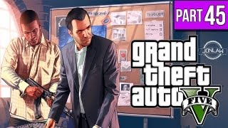 Grand Theft Auto 5 Walkthrough - Part 45 PLANE CRASH - Let's Play Gameplay & Commentary GTA 5