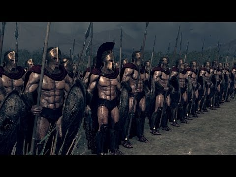 Rome 2 Total War Lets Compare Units in Battle. # 89 The Real 300 vs The Myrmidons