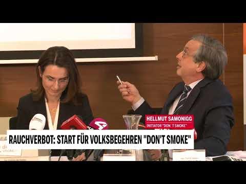Rauchverbot: Volksbegehren