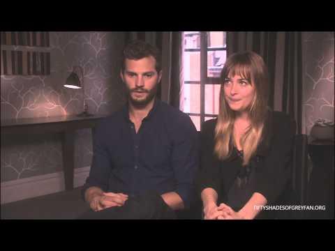 Dakota Johnson and Jamie Dornan Interview - Fifty Shades of Grey [Part 2]