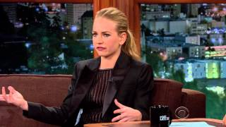 Britt Robertson The Late Late Show 2015 02 27