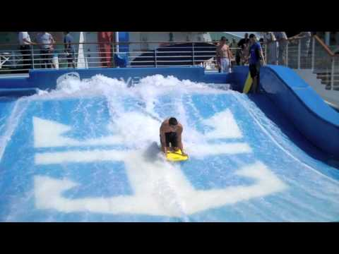 SURFING on Royal Caribbean Cruise Ship