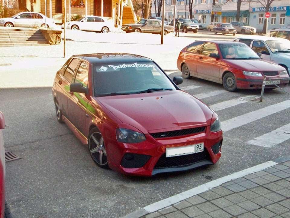 Lada Priora 2 Lada Priora Hatchback Tuning