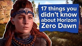 17 things you didn't know about Horizon: Zero Dawn (new PS4 gameplay)