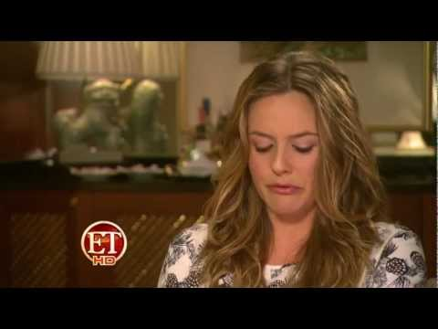 Alicia Silverstone talks about her new Juice Beauty collection with ET Entertainment Tonight