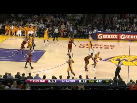Kobe Bryant Highlights VS Cavaliers 2012 (42pts.5reb.3ast)