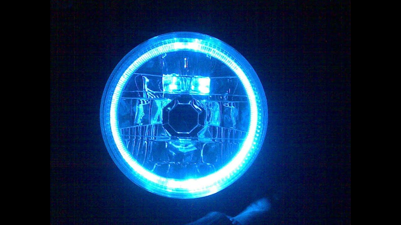 Подсветка фар своими руками видео
