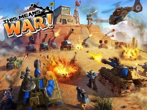 This Means War | Ios iphone ipad App Gameplay video