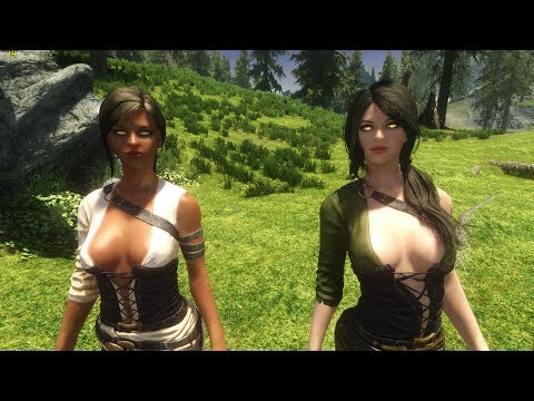 Skyrim Mod Review 02 - Chocolate Milk - Series: Boobs And Lubes video