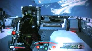 Mass effect 3 : M-90 Indra sniper rifle multiplayer gameplay