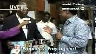 Prophet TB Joshua: Prophecy, Prayer & Deliverance, Sunday 1 Dec 13, Emmanuel TV, SCOAN, Part 1 of 2