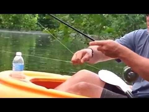 Lake Cumberland kayak fishing