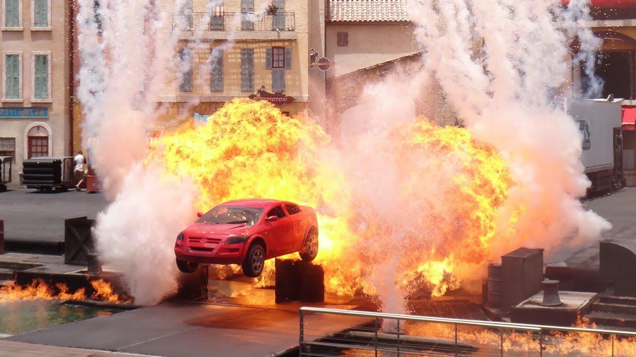 Mgm Stunt Show Cars
