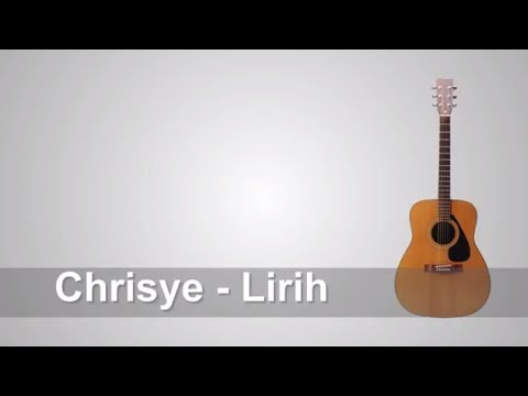 Lirik Lagu Chrisye - Lirih + Chord