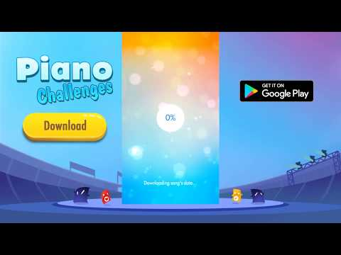Piano Christmas Challenges: Magic White Tiles 2 APK Cover