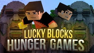 Minecraft: THE TEMPLE OF NOTCH LUCKY BLOCK HUNGER GAMES! - Lucky Block Modded Mini-Game