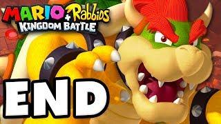 Mario + Rabbids Kingdom Battle - Gameplay Walkthrough Part 21 - Bowser Final Boss Fight!
