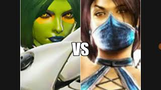 Cringe Score: Daughters of the Fallen (Gamora vs Kitana)