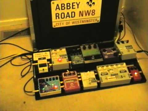 The Police sound: Andy Summers tones : EHX Electric Mistress : DMM TT , Pete Cornish ST-2, NB-3,