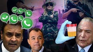 Fábio Rabin - Temer doente / Aécio solto / Cabral preso