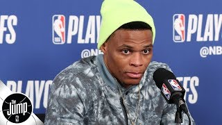 Russell Westbrook 'cheating everybody,' sending a bad message with interview antics | The Jump