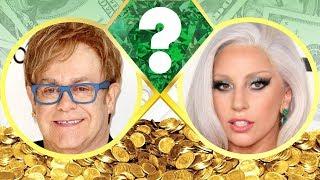 WHO'S RICHER? - Elton John or Lady Gaga? - Net Worth Revealed! (2017)
