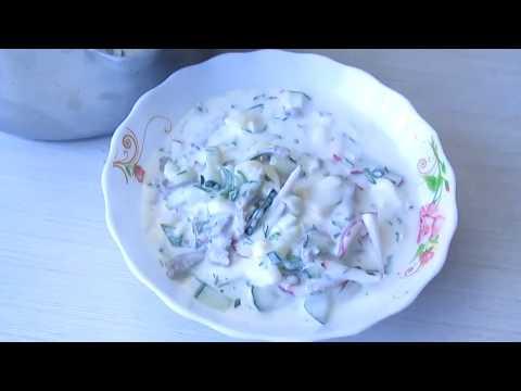 Холодный суп к лету Окрошка