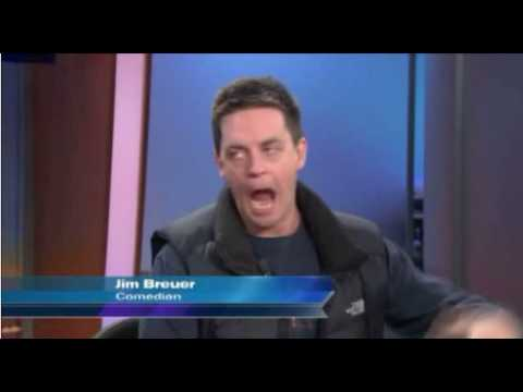 Jim Breuer cracking up the anchors on WGN News