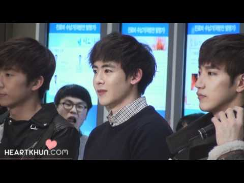 111227-Samsung Medical Center JYPE Charity Concert Nichkhun Ment fancam