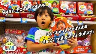 Ryan ToysReview: un successo da 22 milioni di dollari l'anno