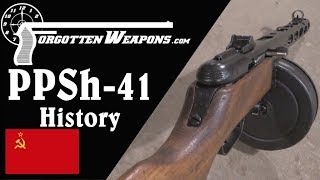 Shpagin's Simplified Subgun: The PPSh-41