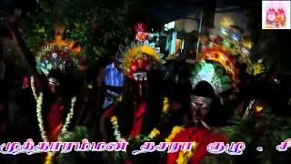 Kulasai Dasara 2014 காளி ஆட்டம் 2 சிவன்குடியேற்று By S.VELKUMARAN