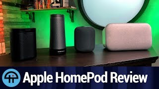 Apple HomePod vs. Google Home Max, Sonos One, Amazon Echo Show, and Harman Kardon Invoke - Review