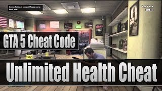 GTA 5 Cheat Code: Invincible/Unlimited Health Cheat Code For (Xbox 360 & PS3)