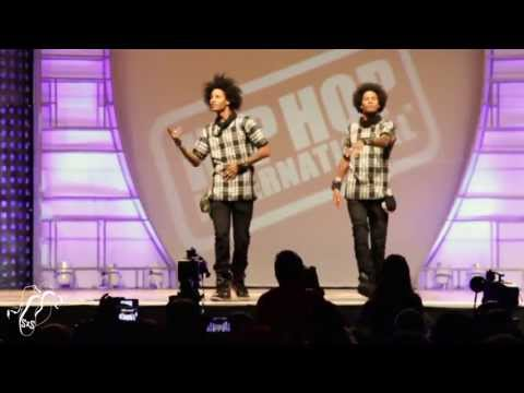 Les Twins | World Hip Hop Dance Finals 2013 | #sxstv video