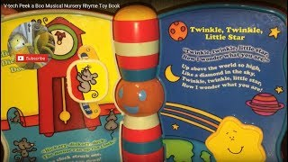 V-tech Peek a Boo Musical Nursery Rhyme Toy Book