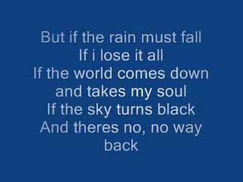 James Morrison - If The Rain Must Fall