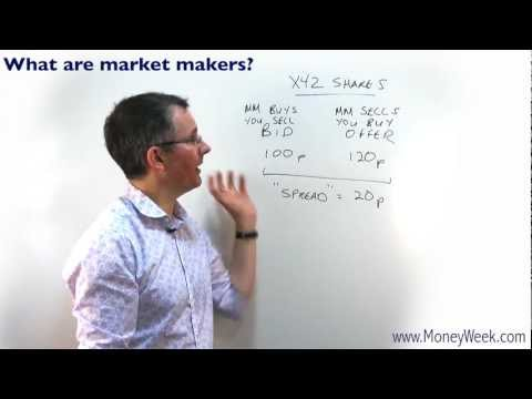 What are 'market makers'? - MoneyWeek Investment Tutorials