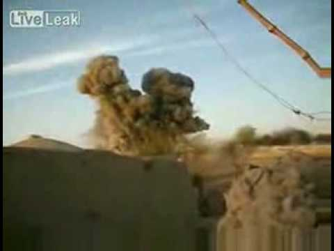 F-16 Dropped 1000 Pound Bomb On Taliban Position In Afghanis