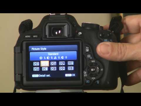 Canon EOS T3i Camera Walkaround