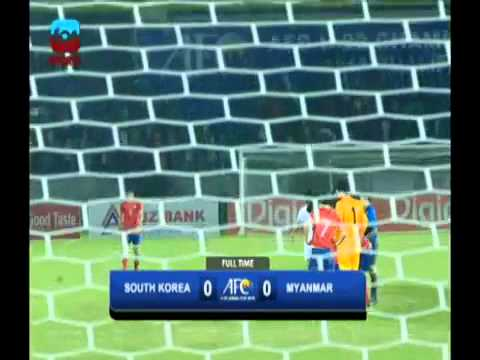 Myanmar 0 - 0 South Korea Full Highlights video