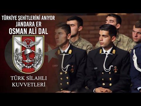 Türkiye Şehitlerini Anıyor - Jandarma Er Osman Ali DAL