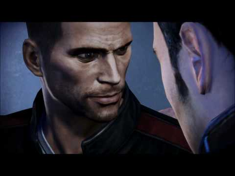 Mass Effect 3: Male Shepard & Kaidan Romance #17 - Sex Scene video