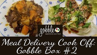 Meal Delivery Cook Off:  Gobble Box #2 | 15 Minute Meals