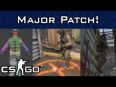 CS:GO Major Update! New Animations, Hitboxes, M4A1-S Nerf & More!