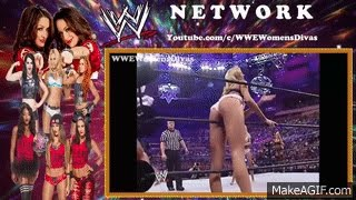 Playboy Evening Gown Match WrestleMania 20