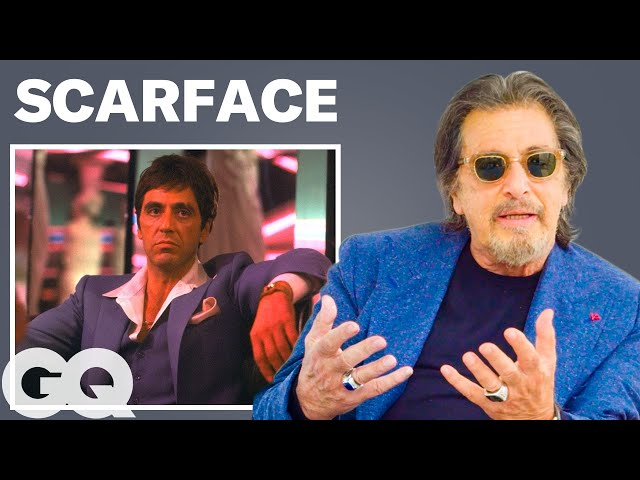 Al Pacino Breaks Down 4 of His Most Iconic Characters  GQ