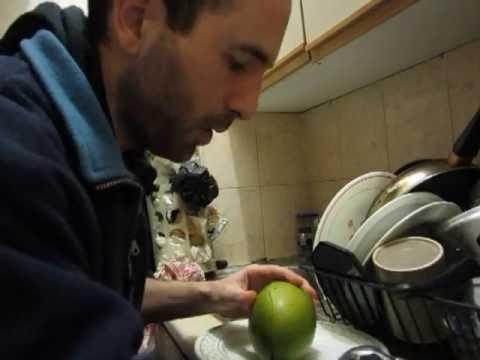 Cómo comer un mango